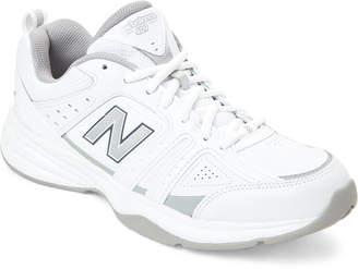 New Balance White 409 Running Sneakers