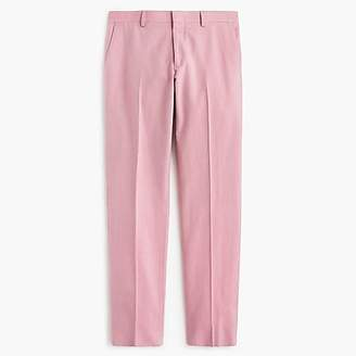 J.Crew Ludlow unlined suit pant in pink Italian cotton oxford