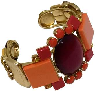 Philippe Ferrandis Red Metal Bracelets