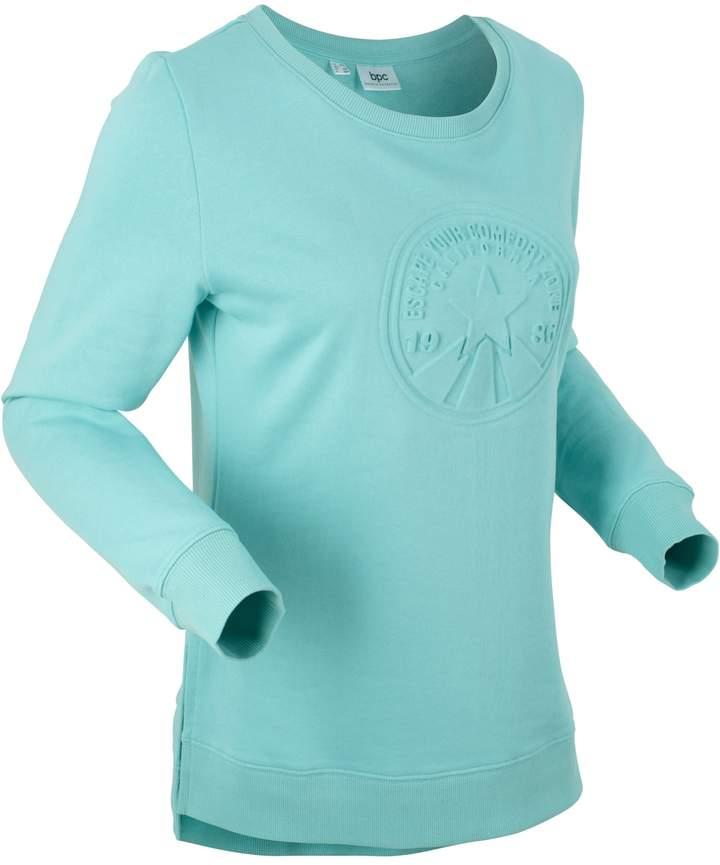 bpc bonprix collection Langarm-Sweatshirt mit Prägung