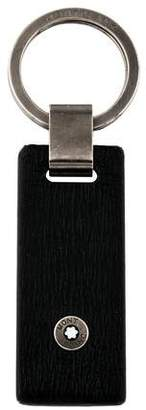 Montblanc Embossed Leather Key Ring