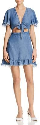 Show Me Your Mumu Melanie Chambray Dress