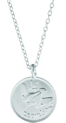 Chupi - Worth You Weight in Gold Farthing Chain Necklace Silver