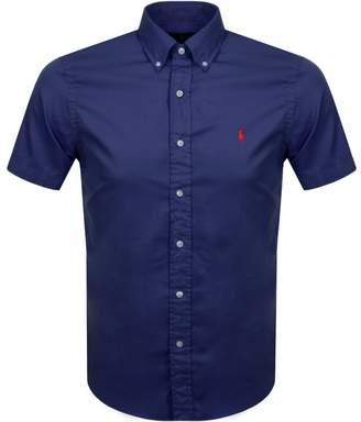 Ralph Lauren Short Sleeved Slim Fit Shirt Navy