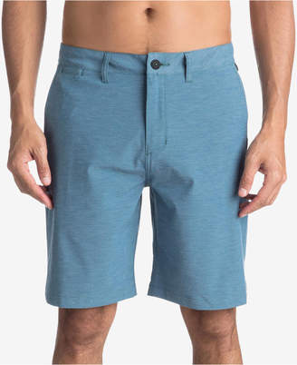"Quiksilver Men's Heathered Amphibian 20"" Hybrid Shorts"