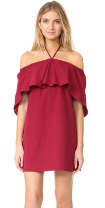 alice + olivia Jade Caped Dress $265 thestylecure.com