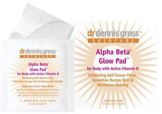 Dr. μ Dr. Dennis Gross Dr. Gross Alpha Beta Glow Pads for Body with Vitamin D