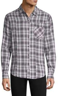 Ovadia & Sons Max Plaid Button-Down Shirt