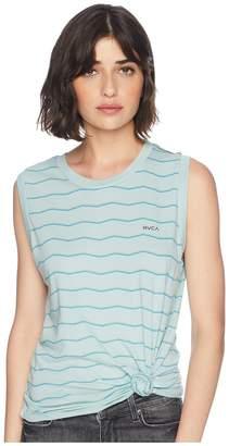 RVCA VA Stripe Tank Top Women's T Shirt