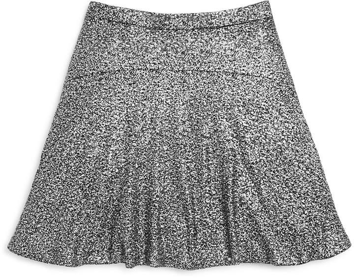 Aqua Girls' Oilslick Flippy Skirt, Big Kid - 100% Exclusive