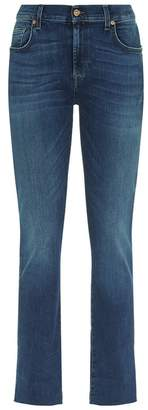 7 For All Mankind Girlfriend Illusion Jeans