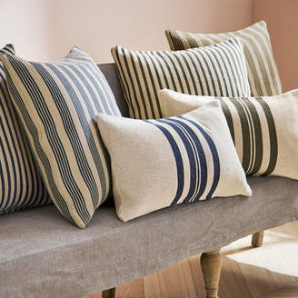 OKA Kyuu Outdoor Cushion Cover, Large - Stripe