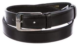 John Lobb Skinny Leather Belt