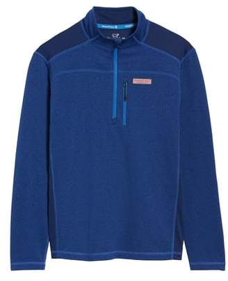 Vineyard Vines Regular Fit Half Zip Pullover