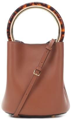 Marni Pannier leather bucket bag