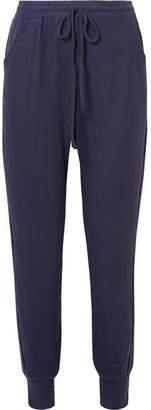 Eberjey The Tie Runner Modal-blend Track Pants - Navy