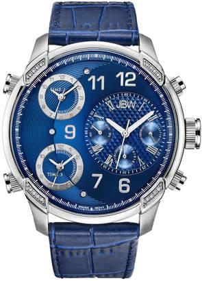 JBW Men's G4 Diamond & Crystal Watch