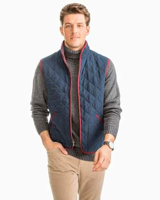Southern Tide Doubleback Quilted Field Vest