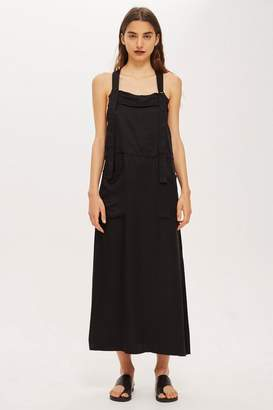 Topshop Pinafore Dress by Boutique
