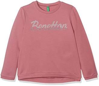 Benetton Girl's Sweater L/s Sweatshirt,(Manufacturer Size: KL)