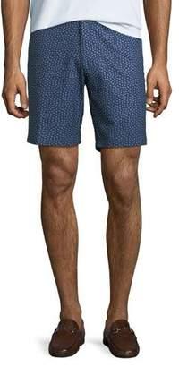 Peter Millar Men's Paisley Pine-Print Shorts