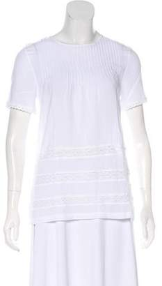 Anine Bing Short Sleeve Knit Top w/Tags