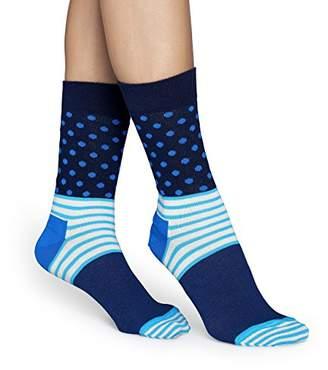 Happy Socks Women's Stripes & Dots Socks,4-7 (Manufacturer Size: 36-40)