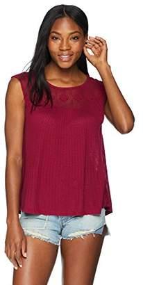 Lucky Brand Women's Crochet Tank TOP