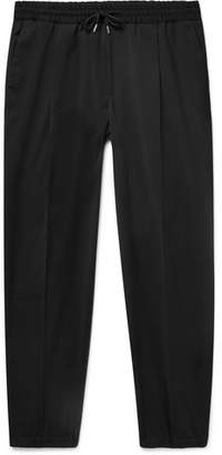 McQ Tapered Woven Drawstring Trousers