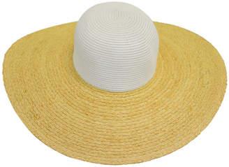 Bondi Beach Bag Co Colour Blocked Floppy Hat