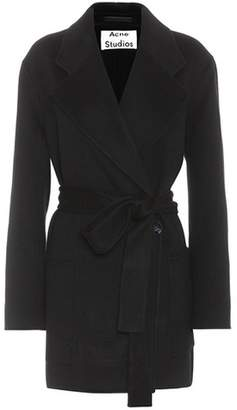 Acne Studios Anika Doublé wool and cashmere coat