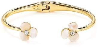 Kate Spade Mother-of-Pearl Floral Cuff
