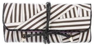 Henri Bendel Striped Jewelry Roll