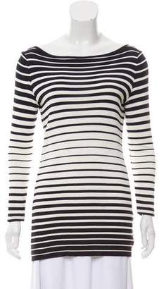 Celine Striped Long Sleeve Top