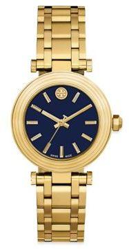Tory BurchTory Burch Classic Goldtone Stainless Steel Bracelet Watch