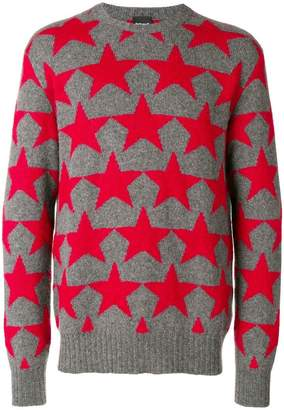 Just Cavalli star knit sweater