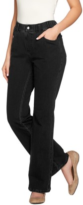 Factory Quacker DreamJeannes Short Pull-On 5 Pocket Boot Cut Pants