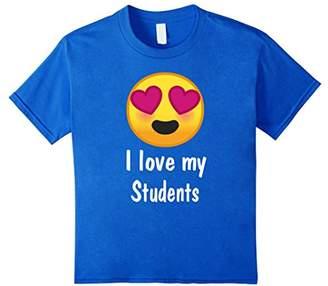 Heart Eyes Teacher Shirt I Love My Students