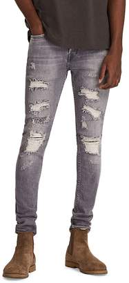AllSaints Grays Skinny Cigarette Jeans in Gray