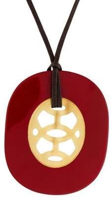 Hermes Lift Horn Pendant Necklace