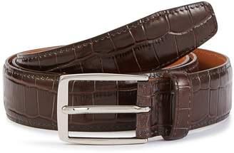 MAISON BOINET Crocodile print belt