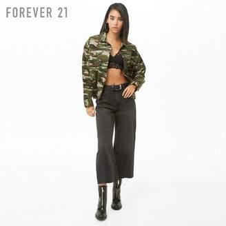 Forever 21 (フォーエバー 21) - Forever 21 カモフラデニムジャケット