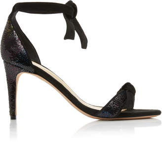 Alexandre Birman Clarita Sequin And Suede Sandals