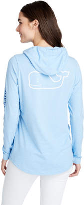 Vineyard Vines Long-Sleeve Edgartown Tri-Color Vintage Whale Hoodie Tee