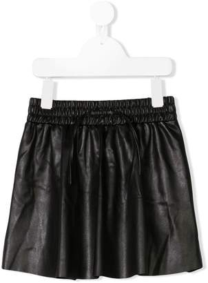 Zadig & Voltaire Kids Sahteene faux leather skirt