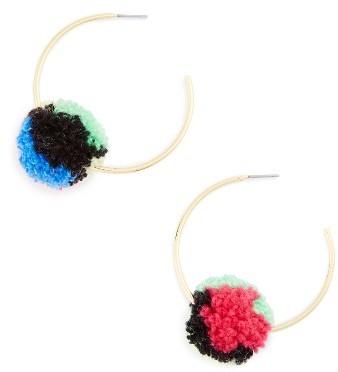 Women's Baublebar Antigua Pompom Earrings