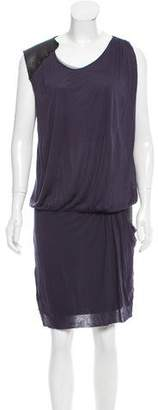 Amen Sequin-Accented Mini Dress