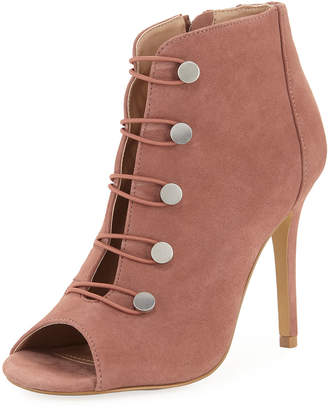 Charles by Charles David Royalty Open-Toe Button Bootie