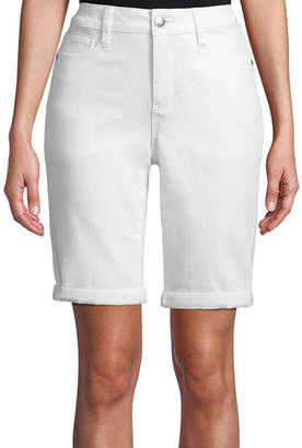 ST. JOHN'S BAY Roll Cuff Bermuda - Tall Inseam 12
