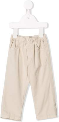 Il Gufo elasticated waistband trousers